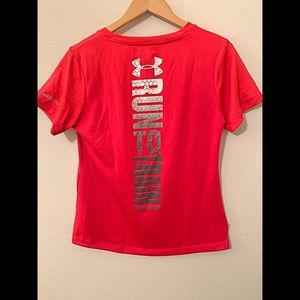 Under Armour Run to train Train to run active top